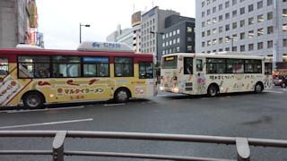 写真20100627a: ラッピングバス